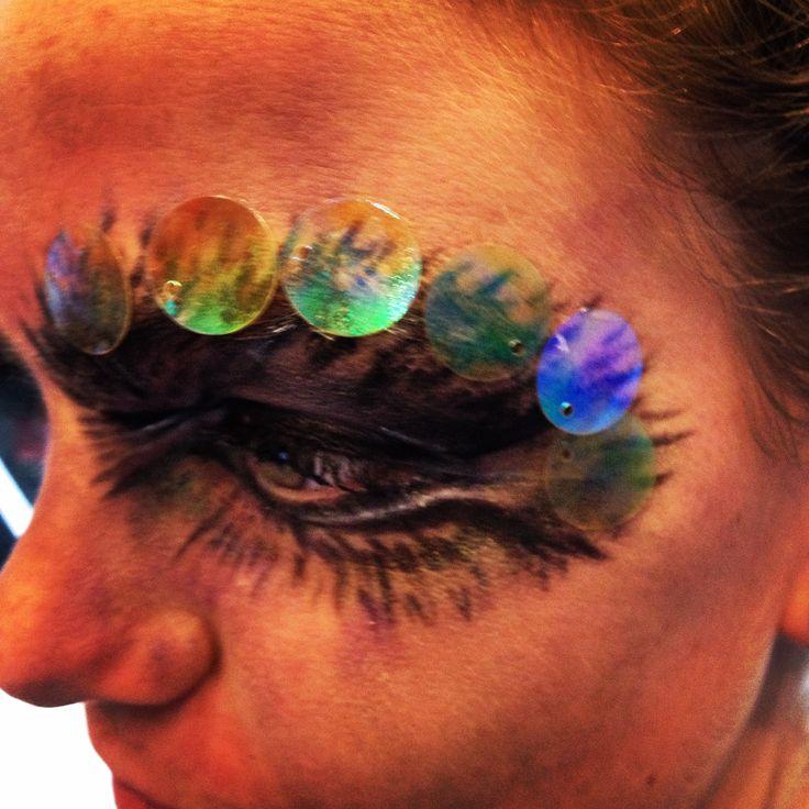 creative dancer makeup