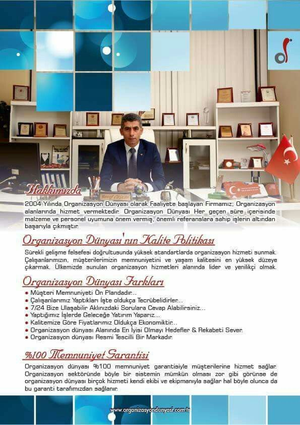 Manavgat, Antalya konumunda organizasyon dünyası