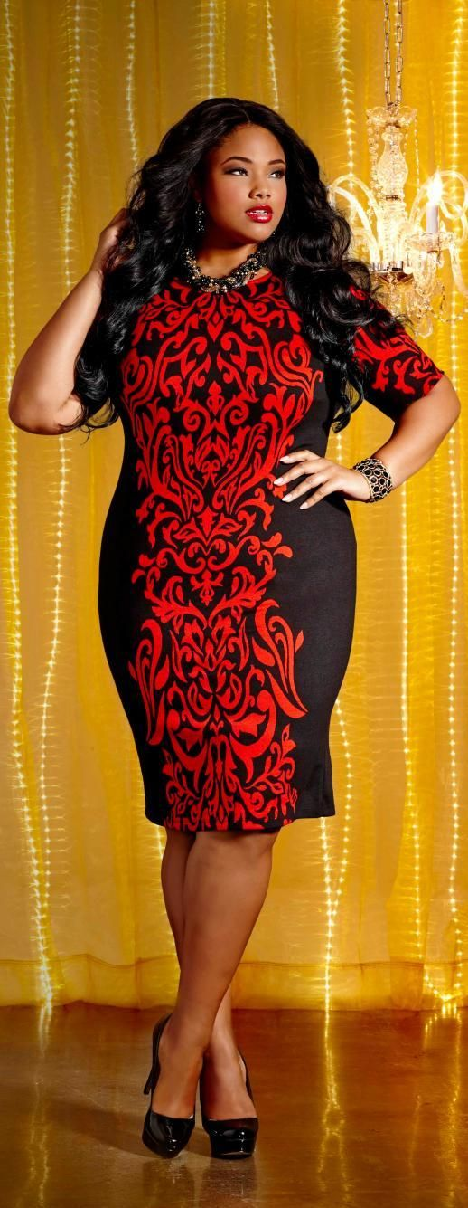 Ashley Stewart Holiday 2013 Campaign. Model Anita Marshall.