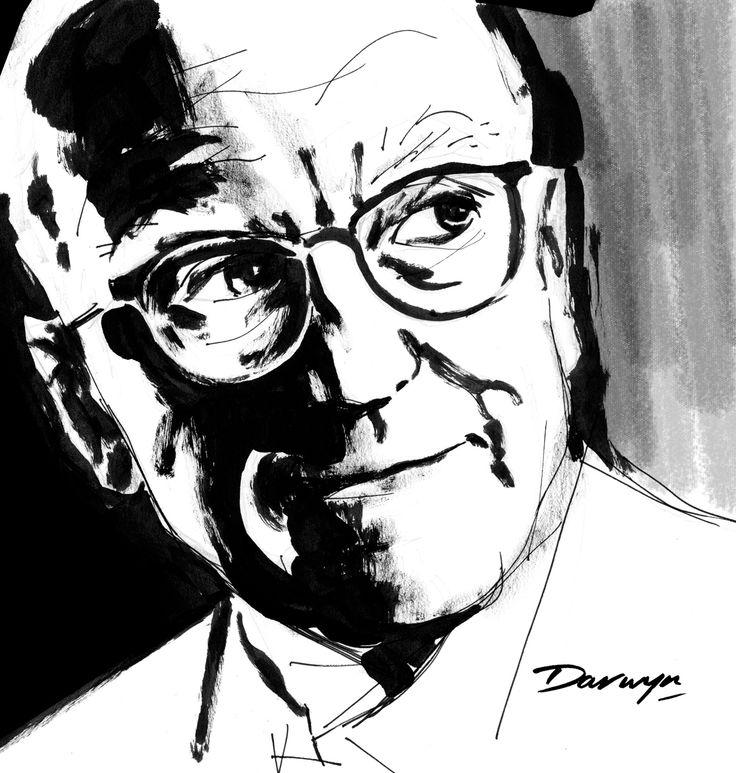 Donald Westlake (aka Richard Stark) by artist Darwyn Cooke