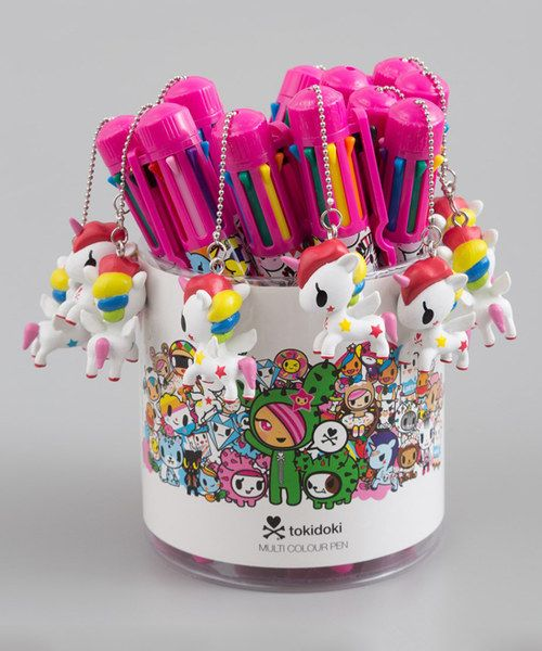 Look at this Tokidoki Multi-Color Pen - Set of 12 on #zulily today!