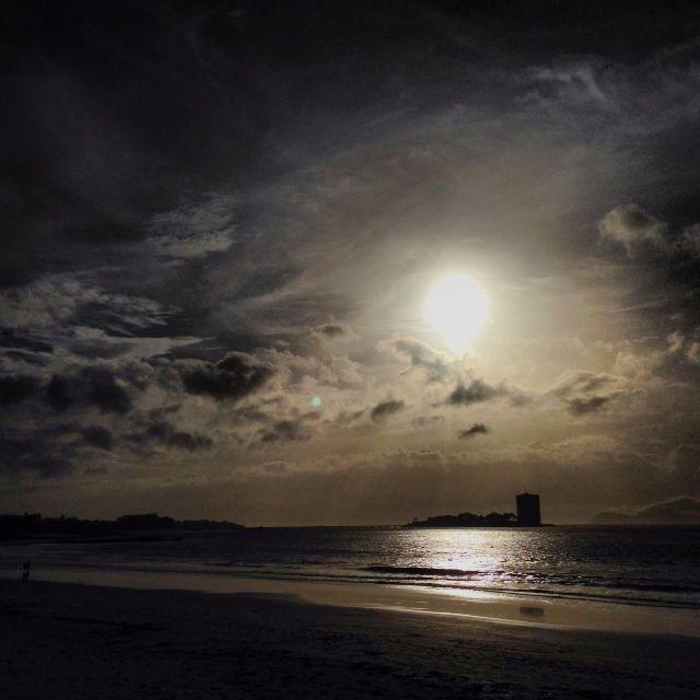 Sunset  Vigo
