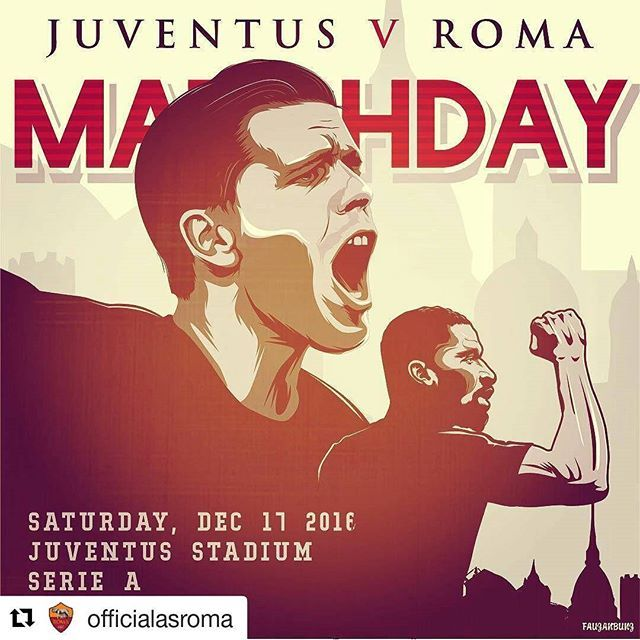 May the best team win 🔘 #Repost @officialasroma with @repostapp ・・・ #MatchDay... Sieti carichi❓ Taggate tre amici che tiferanno #Roma questa sera! #DajeRoma❗️🔶🔴 *** Tag 3 friends who will be supporting #ASRoma against #Juventus tonight! #ForzaRoma 🔶🔴 *** #Follow @officialasroma on Instagram *** #JuveRoma #ASRoma #Juventus #juve #serieatim #giallorossi #trasferta #infographic #szczesny #ruediger #rudiger #filter