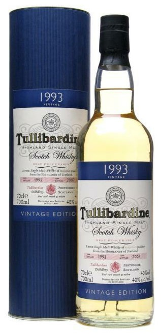 Een 18-jarige single malt whisky gedestilleerd in 1993 en gebotteld in 2011. De whisky is gerijpt in first-fill bourbon vaten.