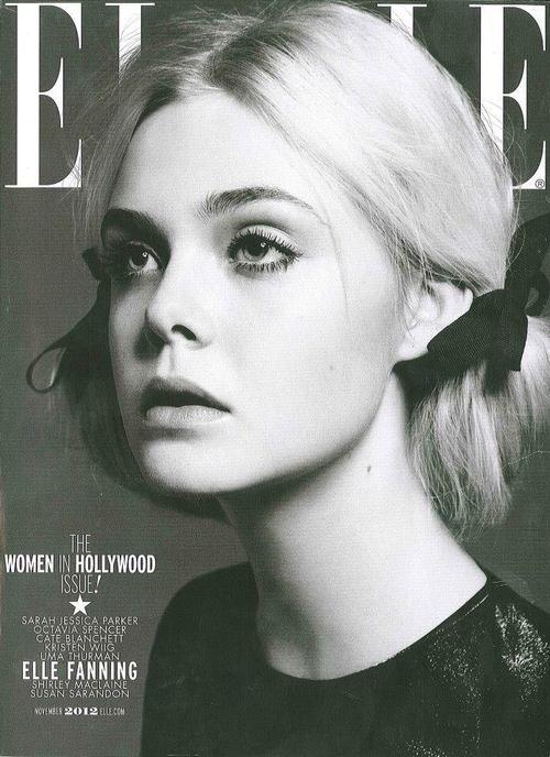 elle fanning | Elle November 2012
