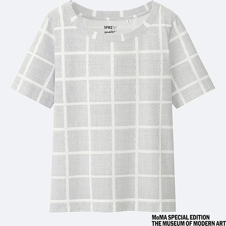 T-Shirt SPRZ NY  Manches Courtes (Francois Morellet) FEMME