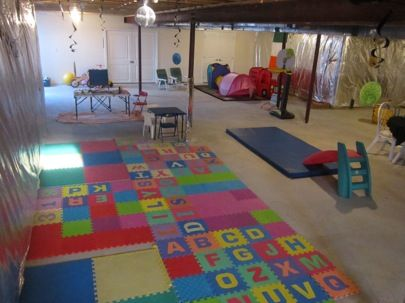 basement ideas for kids area. Unfinished Basement  Bob s Blogs Best 25 basement playroom ideas on Pinterest