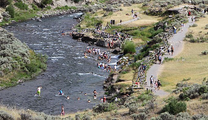 Find out exactly how to get to Yellowstone's Boiling River and the rules and…