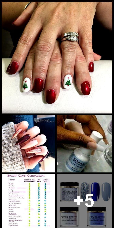 Acryl Differenz Dip Gel Nagel Acrylic Difference Dip Gel Nail Nails Acryl Unterschied Tauchen Gel Nagel Nagel En 2020 Ongles Acrylique Clous