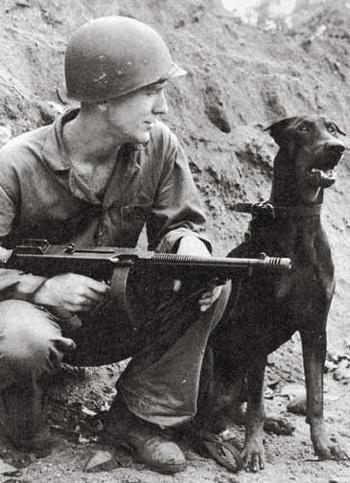 I got your back, buddy. WWII.