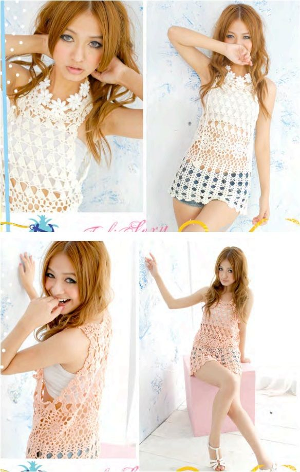 crochet Thai Style tunic summer dress Wonderful DIY Crochet Summer Dress with Free Pattern