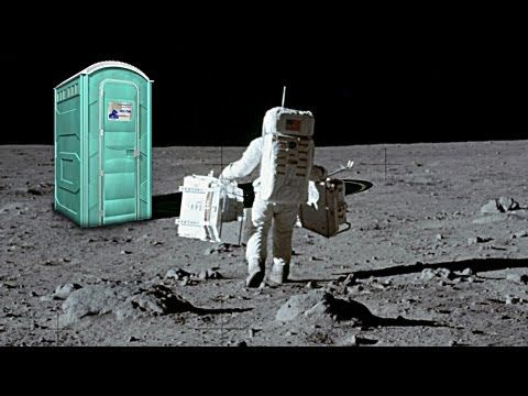 There is poop on the #Moon. Really.