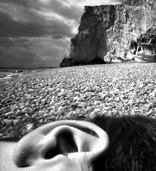 Beach with ear, Bill Brandt
