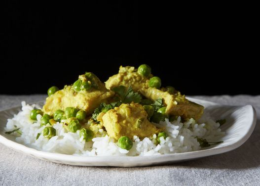 Salmon with a Thai Curry Sauce Recipe.