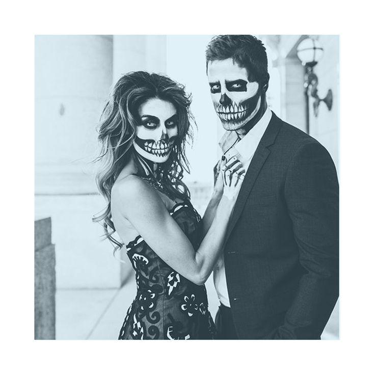 Partner Halloween Make Up? Geil! Termin gebucht auf MYLOMA? Doppel Geil!