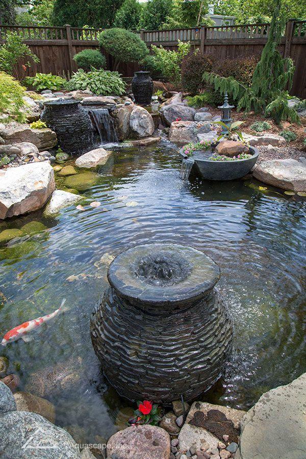 Pond Kit Beauty Watergardening Fish Ponds Backyard Ponds Backyard Backyard Landscaping Designs