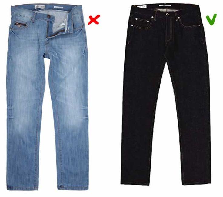 abbinare blu jeans e scarpe da abito