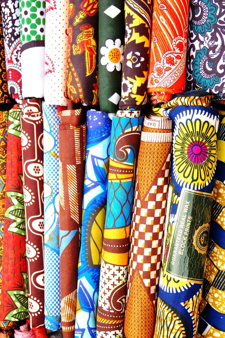 African Fabrics  For Either Tablecloths, Cloth Flowers For Boutonnieres Or  Even For Wedding Invites