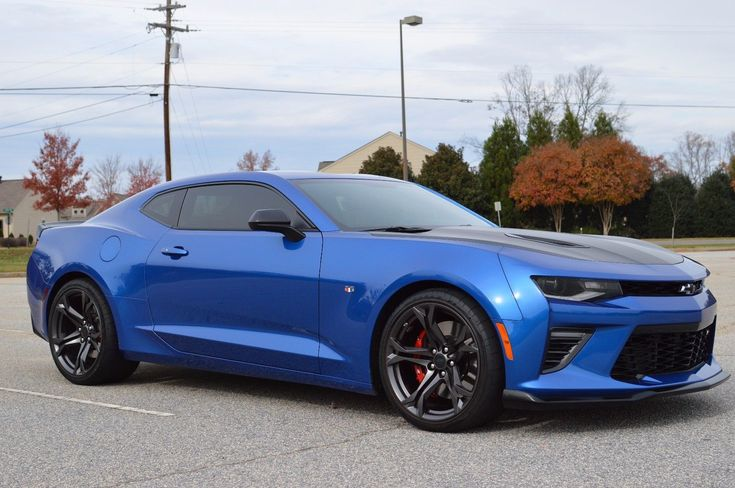 Cool Awesome 2017 Chevrolet Camaro 1ss 2017 Chevrolet Camaro Ss 1le Hyper Blue 6 Speed Manual