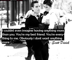 scott disick. He's a jerk, but a sweet one.
