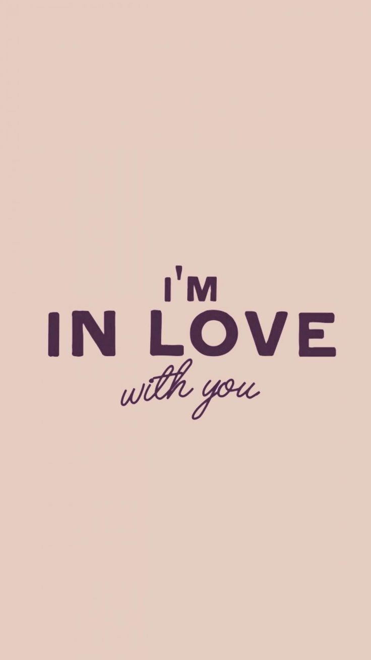 Wallpaper iphone love quotes - I M In Love Iphone Wallpaper