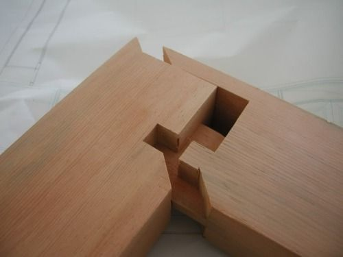 Ingenious japanese joinery