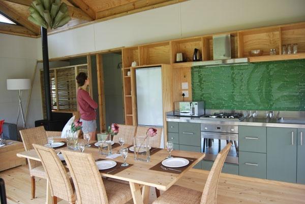 New eco cabins in Kogelberg Biosphere Reserve