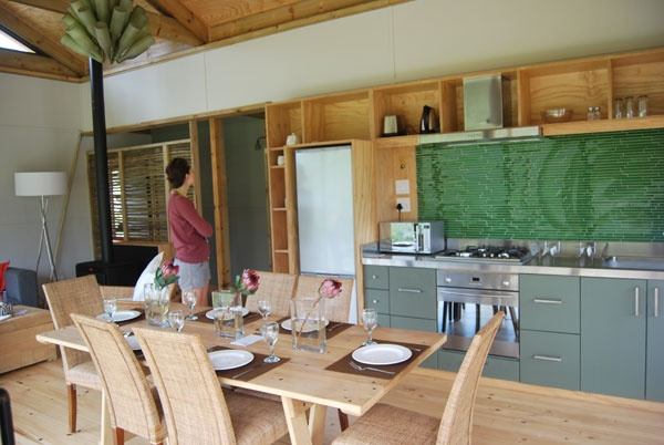 new eco cabins in Kogelberg reserve