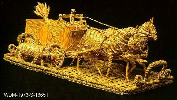 Wheat Weaving - Artifact Articles - Western Development Museum