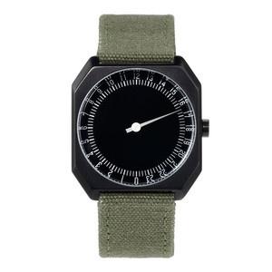 Armbanduhr slow Jo Oliv-Schwarz, 170€, jetzt auf Fab.