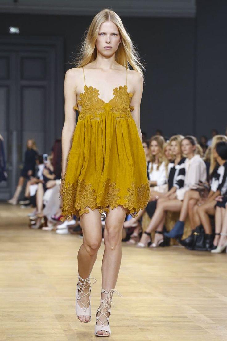 Chloé Ready To Wear Spring Summer 2015 Paris - NOWFASHION