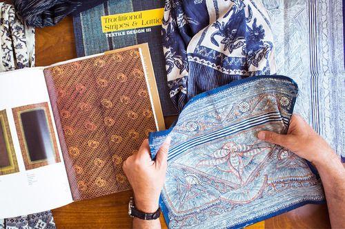 J.Crew   Blog: Behind the Design: Wool-Silk Scarves