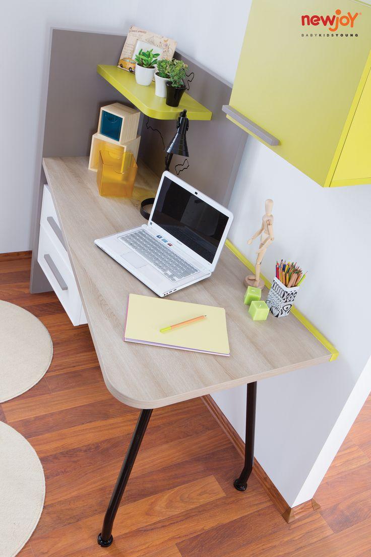 #Newjoy My World Çalışma Masası #çalışmamasası #oda #mobilya #dekor #ev #gençodası #yatak #masa #tasarım #moda #mimari #genç #teenager #table #desk #newjoy #dekorasyon #dolap #ders #okul #çalışma #çocuk #çocukodası #çocukmodası