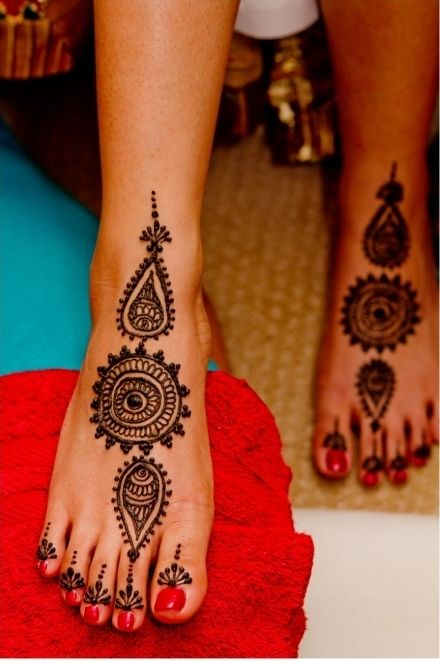 Feet Mehndi Design Pic : Best henna feet images on pinterest mehndi