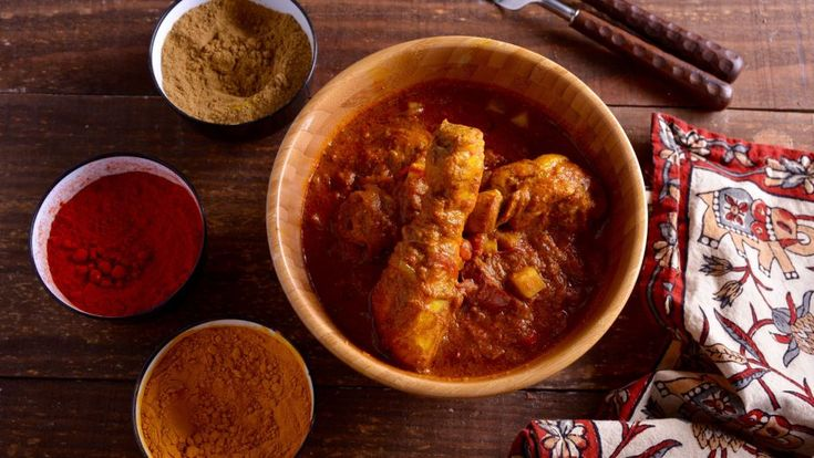 Curry de pollo picante (Chicken vindaloo) - Receta - Canal Cocina