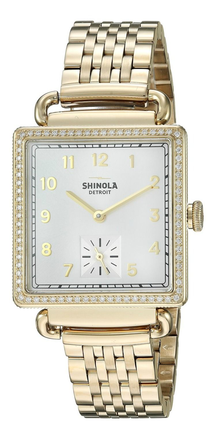 Time is a treasure.  Make every minute magnificent adorned with the exquisite elegance of a #Shinola #Detroit #timepiece. #watch #timepieces #watches #jewelry