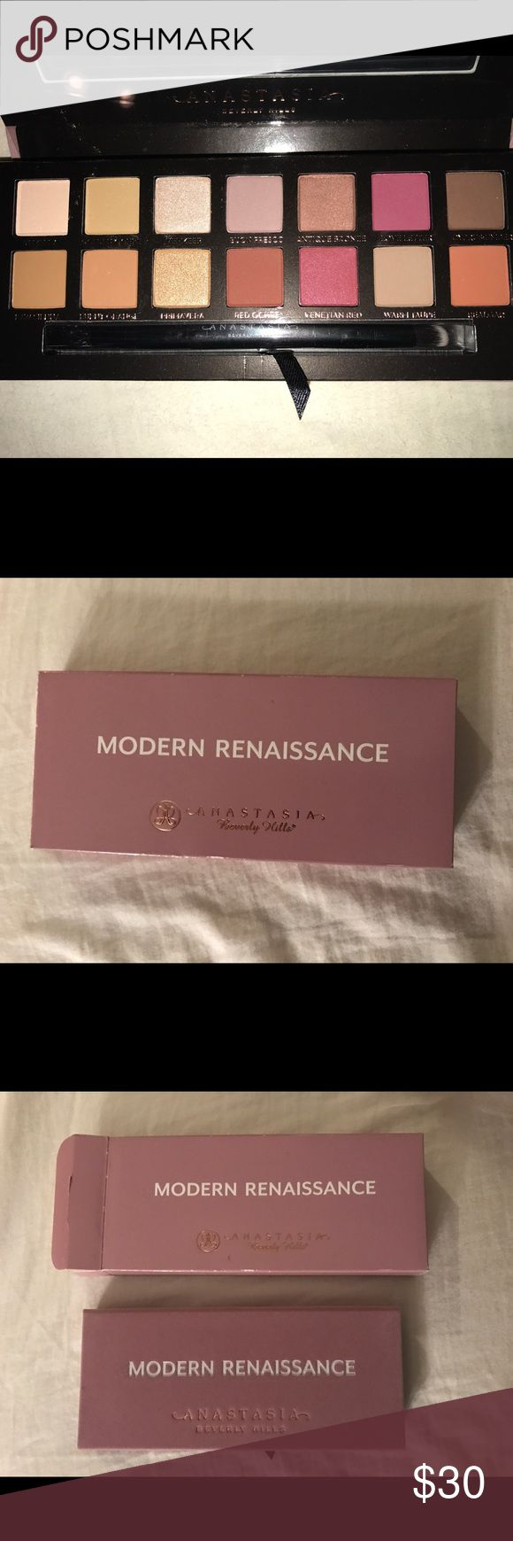 NEW Anastasia BH Modern Renaissance Palette Brand new, has never been touched/swatched, 100% authentic guaranteed Anastasia Beverly Hills Makeup Eyeshadow