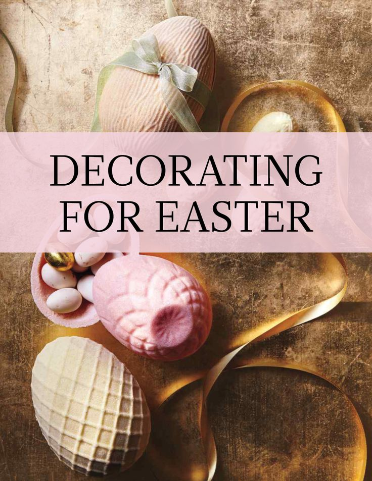 Decorating for Easter | Sugar eggs and Easter