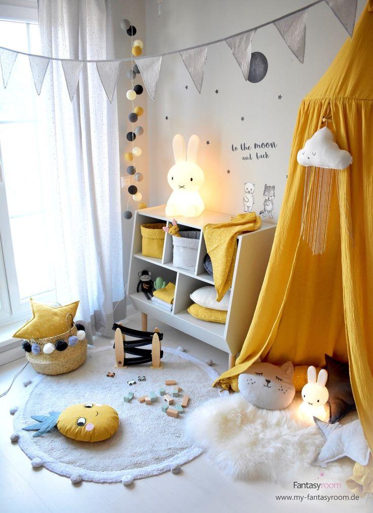 Kinderzimmer in Gelb einrichten & gestalten (mit Bildern