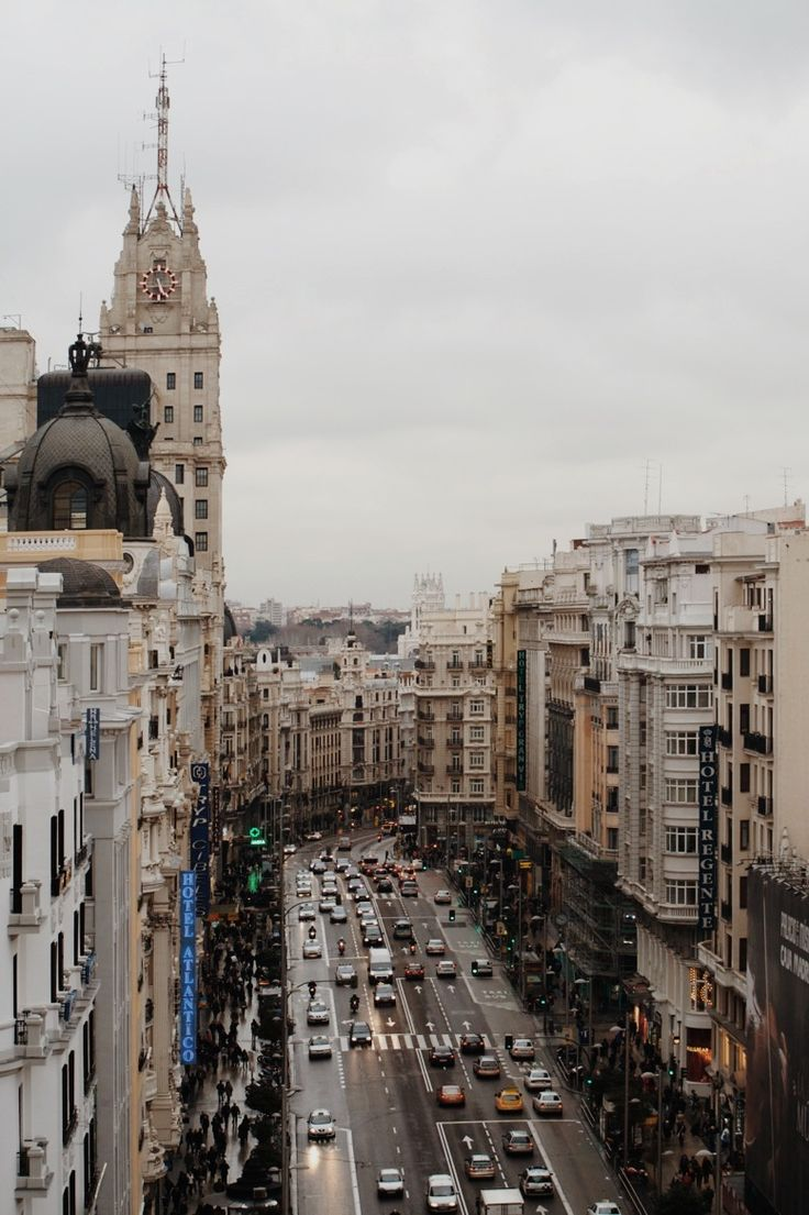 Madrid Spain Europe City Guide
