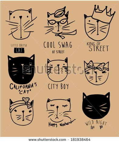 Cat Illustration Stock Photos, Images, & Pictures | Shutterstock