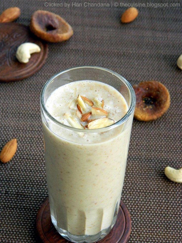 Dry Fruits Milkshake Recipe: Preparation & Cooking Time : 10 mins Serves: 2 persons Ingredients: Chilled Milk: 1.5 to 2 cups Pitted Dates: 8 Dried Figs : 4 Almonds: 20 Cashew Nuts: 20 Method: 1…