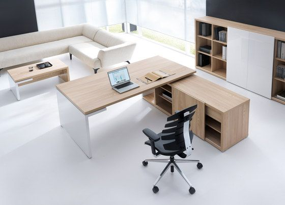 Executive Desk / Wood Veneer / Contemporary / Commercial   MITO By Simone  Bernocchi   MDD