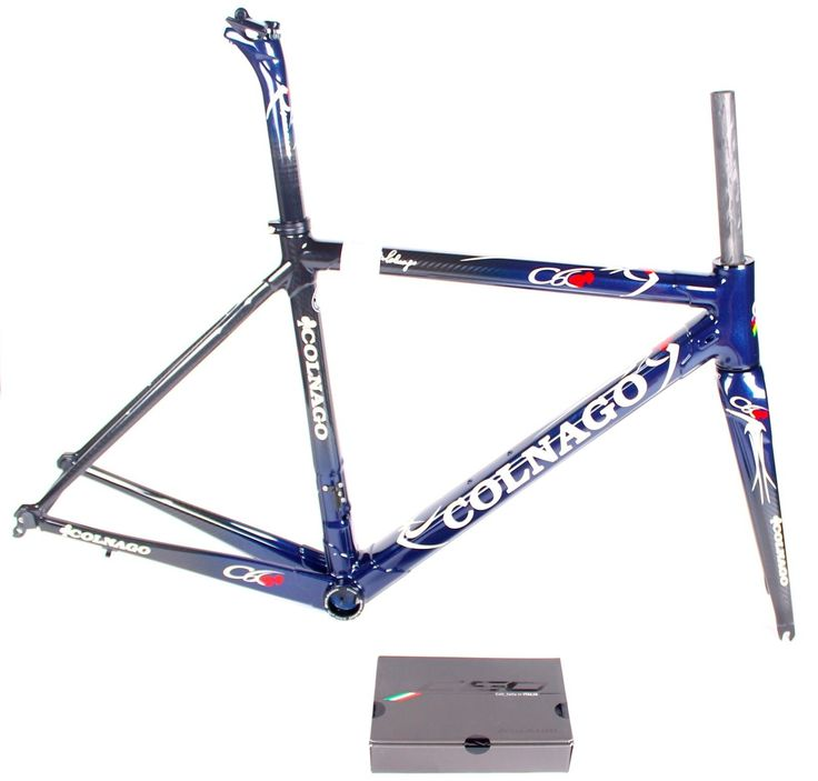 2015 Colnago C60 48 cm OFMA Sloping Blue Carbon Frame Set NEW Fits Campagnolo