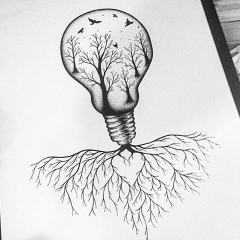 Ms de 25 ideas increbles sobre Dibujo de bombilla en Pinterest