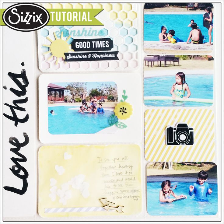 Sizzix Die Cutting Tutorial | Life Made Simple Watecolor by Genevive Rulona