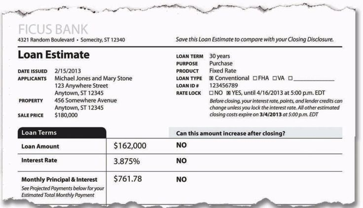 What the new mortgage closing process means for consumers - The - loan estimate form