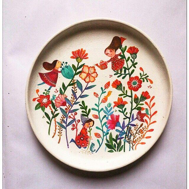 Plate by Parastoo Toraji