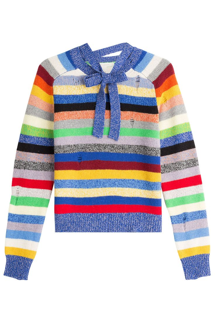 MARC JACOBS Striped Cashmere Pullover - £349.00