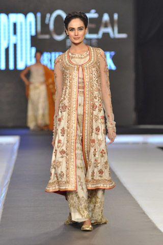 Misha Lakhani Collection at L'Oreal Paris Bridal Week 2012 Day 1